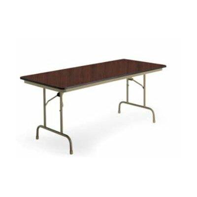 KI Furniture Heritage Rectangular Folding Table