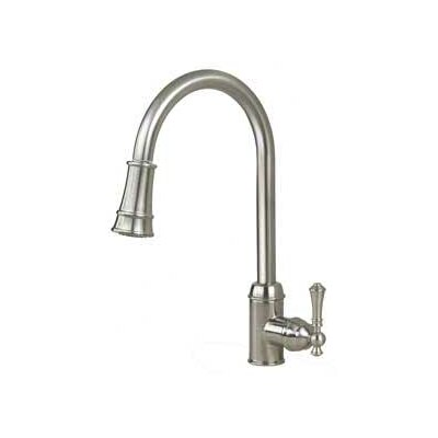 """16.94"""" One Handle Single Hole Kitchen Faucet Product Photo"""