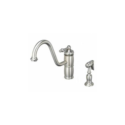 One Handle Single Hole Kitchen Faucet Product Photo