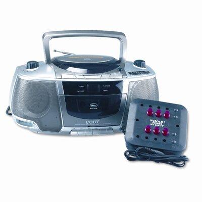 AmpliVox Sound Systems Six-Station Listening Center/Boombox