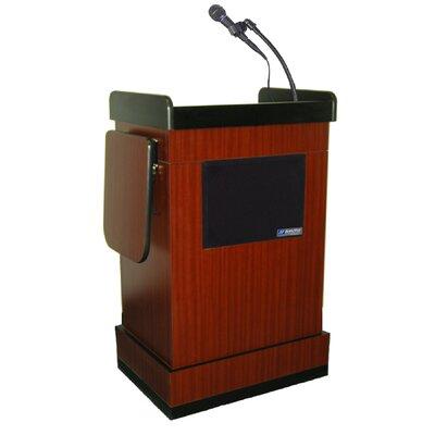 AmpliVox Sound Systems Multimedia Computer Full Podium