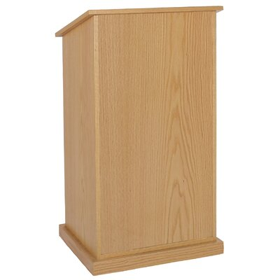 AmpliVox Sound Systems Chancellor Lectern without Sound
