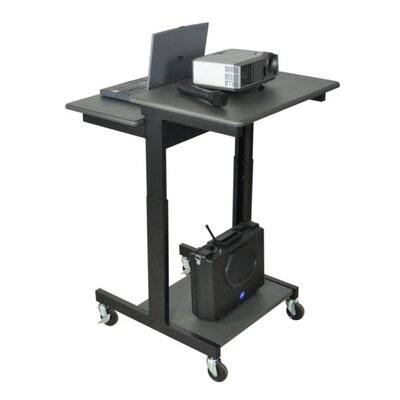 AmpliVox Sound Systems Mobile Single Person Laptop Cart