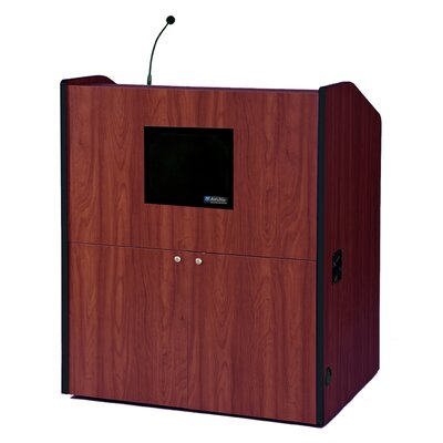 AmpliVox Sound Systems Wide Multimedia Full Podium