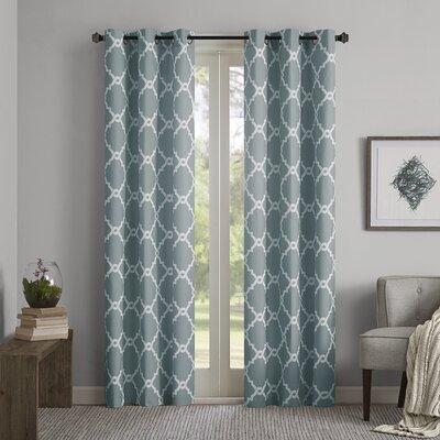 Merritt Geometric Curtain Panel Product Photo