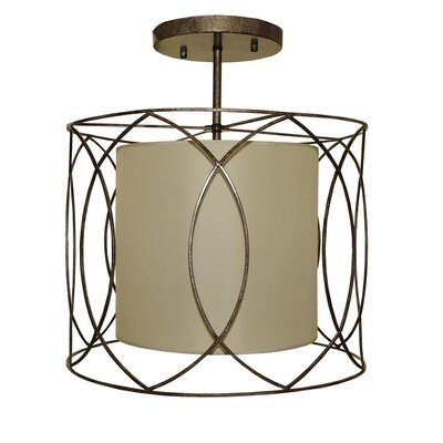 Pisces Wrought Iron Drum Chandelier by LightUpMyHome