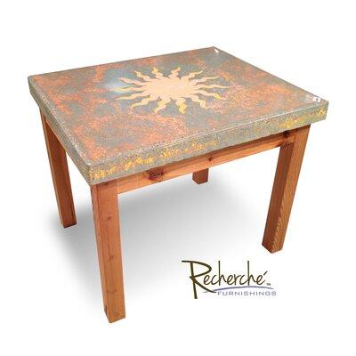 Celestial Sunburst End Table by Recherche