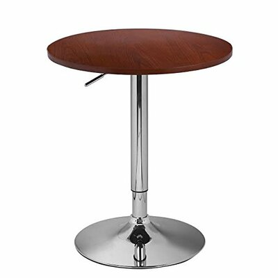 Adjustable Height Pub Table by AdecoTrading