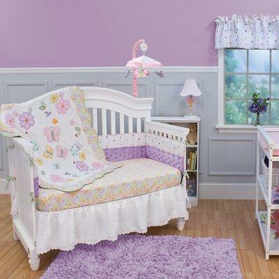 Butterfly Garden 3 Piece Crib Bedding Set by Nurture Imagination