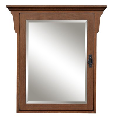 "Mission Oak 30"" x 32"" Surface Mount Cabinet Product Photo"