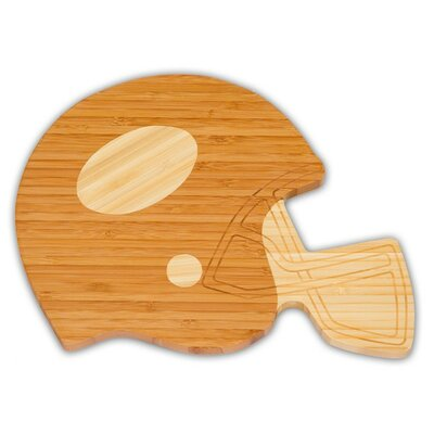 Football Helmet Bamboo Cutting Board by Picnic Plus by Spectrum