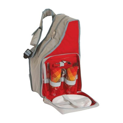 Fiesta Picnic 2 Person Sling Backpack by Picnic Plus by Spectrum