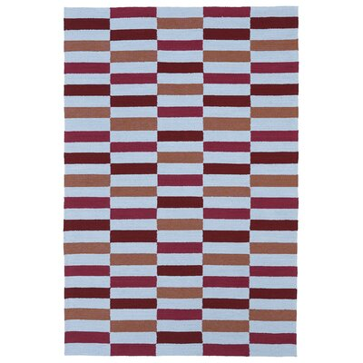 Matira Cranberry Indoor/Outdoor Rug by Kaleen
