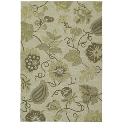 Kaleen Habitat 21 Garden Harbour Linen Floral Indoor/Outdoor Area Rug