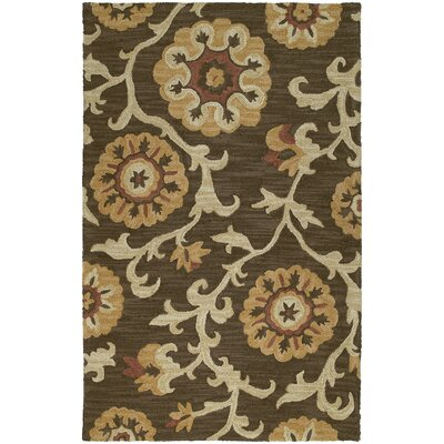 Kaleen Carriage Cornish Brown Area Rug