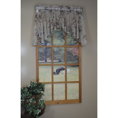 """Rosecliff 55""""W x 24""""L Flounce Valance Product Photo"""