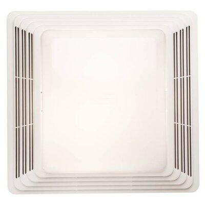 50 CFM Heavy Duty Fan/Light Ventilation Fan with Grille by NuTone
