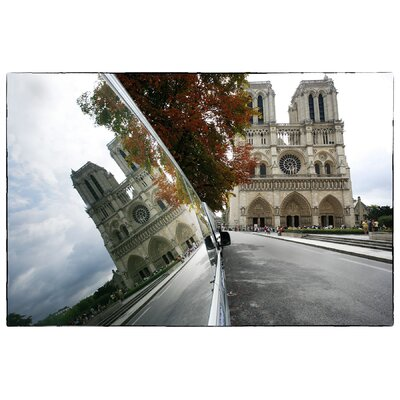 Limited Edition 'Reflections on Notre Dame De Paris' by Fikry Botros Photographic Print by ...