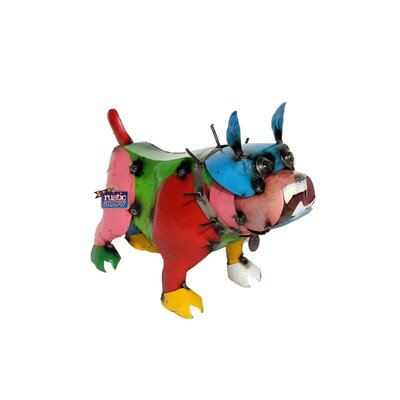 Small Bull Dog Statue by Rustic Arrow
