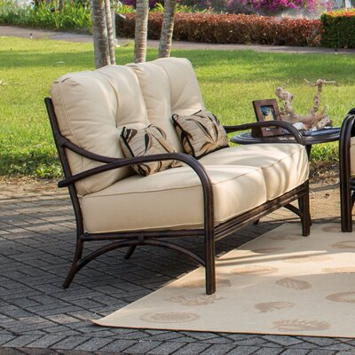 Sundance Loveseat with Cushion by Pride Family Brands