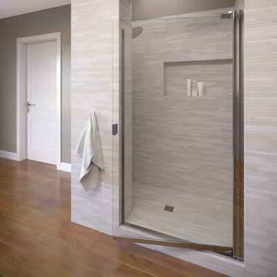 "Classic 66"" x 25.13"" Single Swing Shower Door Product Photo"