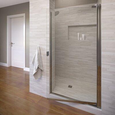 "Classic 66"" x 35.63 Single Swing Shower Door Product Photo"