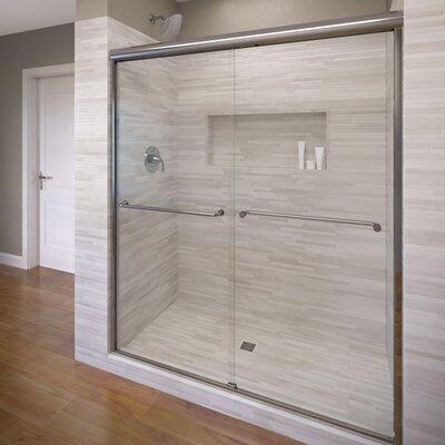 """Celesta 71.25"""" x 60"""" Frameless Bypass Sliding Shower Door Product Photo"""