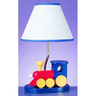 """Cal Lighting Train 15"""" H Table Lamp with Empire Shade"""