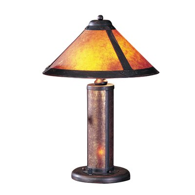 """Cal Lighting Accent 20"""" H Table Lamp with Cone Shade"""