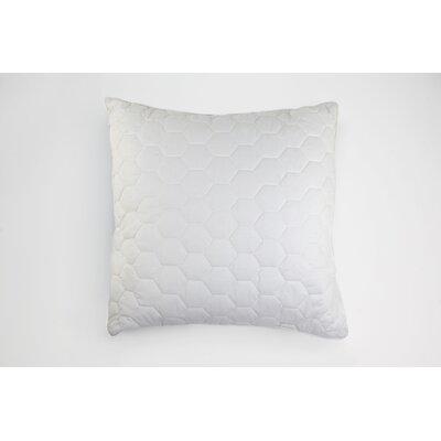 Honeycomb Quilt Cotton Throw Pillow by Honeyami