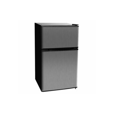 3.1 cu. ft. Compact Refrigerator with Freezer by Kegco