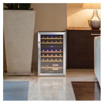 Cascina 29 Bottle Dual Zone Freestanding Wine Refrigerator by Allavino