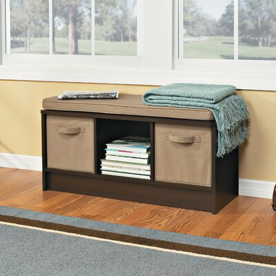 Closetmaid Cubeicals 3 Cube Storage Bench Amp Reviews Wayfair