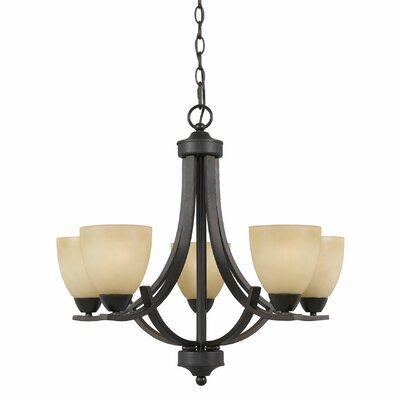 Value 5 Light Chandelier Product Photo