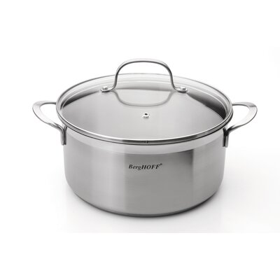 Bistro 4.8-qt Stock Pot with Lid by BergHOFF