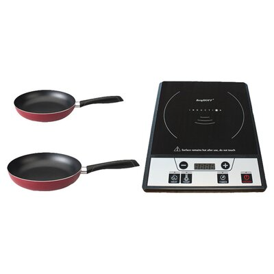 "Tronic 24"" Electric Induction Cooktop Set with 1 Burner Product Photo"
