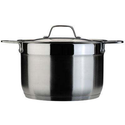 EarthChef 8 Qt Stock Pot with Lid by BergHOFF