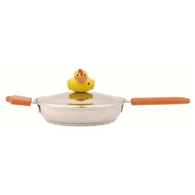 "BergHOFF International Sheriff Duck 7"" Skillet with Lid"