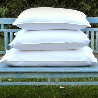 Down and Feather Compartment Pillow by Allied Home