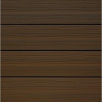 Newtechwood ultrashield spanish walnut wood 12 x 12 for 12 x 12 wood floor tiles