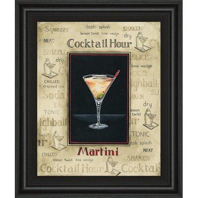 Martini by Gregory Gorham Framed Vintage Advertisement by ClassyArtWholesalers