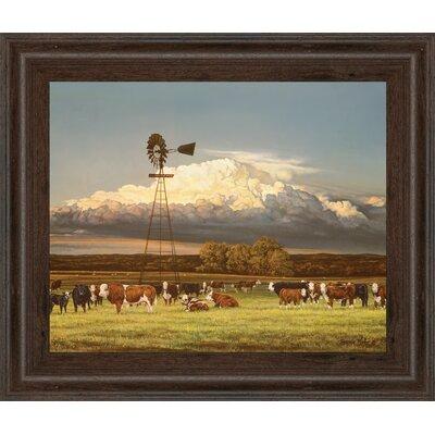 Summer Pastures by Bonnie Mohr & Mossy Oak Nativ Living Framed Wall Art by ClassyArtWholesalers ...
