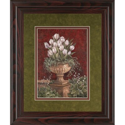 Alexa's Tulips by Betsy Brown Framed Painting Print by ClassyArtWholesalers