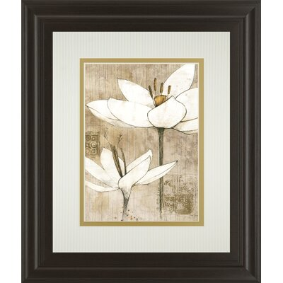 Pencil Floral I by Avery Tillman Framed Painting Print by ClassyArtWholesalers