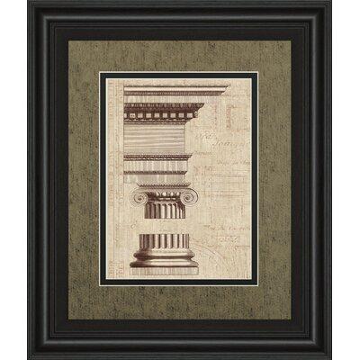 Architectural Renderning II Wild Apple Portfolio Framed Graphic Art by ClassyArtWholesalers