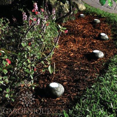 5 Piece Meteora Stone Landscape and Pond Light Set by Gardenique