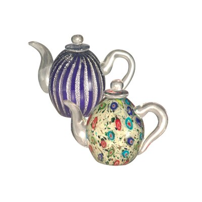 2 Piece Favrile Teapot by Dale Tiffany