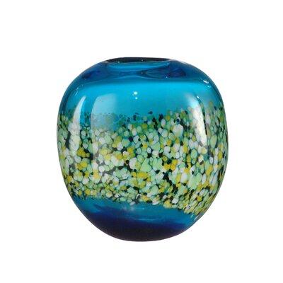 Poppy Field Vase by Dale Tiffany