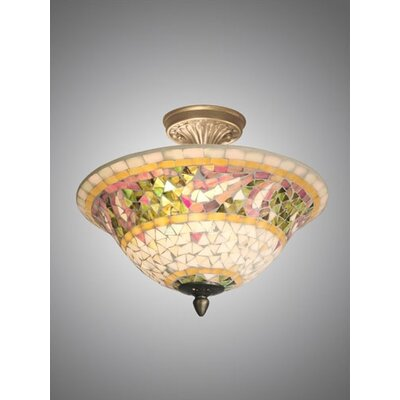 Bradshaw Mosaic Semi Flush Mount Product Photo