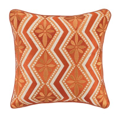 KD Spain Bahir IV Linen Embroidered Pillow